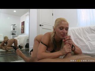 Блонди с шикарной попкой устроила бойфренду поебушки
